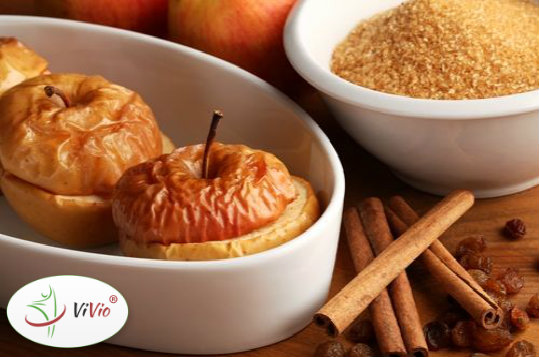 zielone Pieczone jabłka - Pyszna przekąska dla osób na diecie