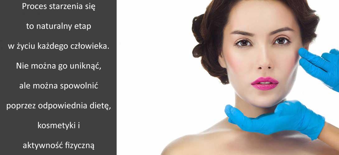 """starzenie-skory Jak powstrzymać proces starzenia się skóry? Jak walczyć ze zmarszczkami i """"kurzymi łapkami""""?"""