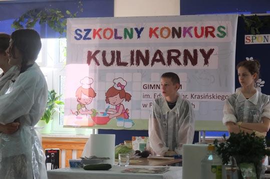 konkurs Szkolny Konkurs Kulinarny w Radziejowicach z ViVio w tle...