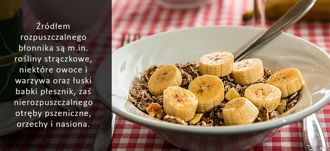 blonnik-pokarmowy Co daje nam błonnik pokarmowy?
