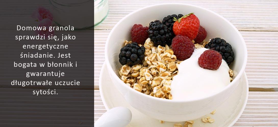 granola-przepis Granola i dawka dobrej energii!