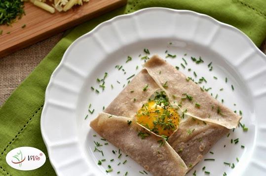 nalesniki Naleśniki gryczane. Sposób na śniadanie lub kolację!