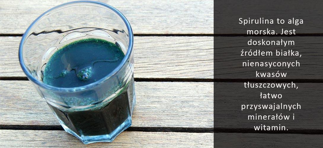 spirulina-dla-wegetarian Spirulina i zalety jej stosowania. Czy jest idealnym suplementem dla wegetarian?