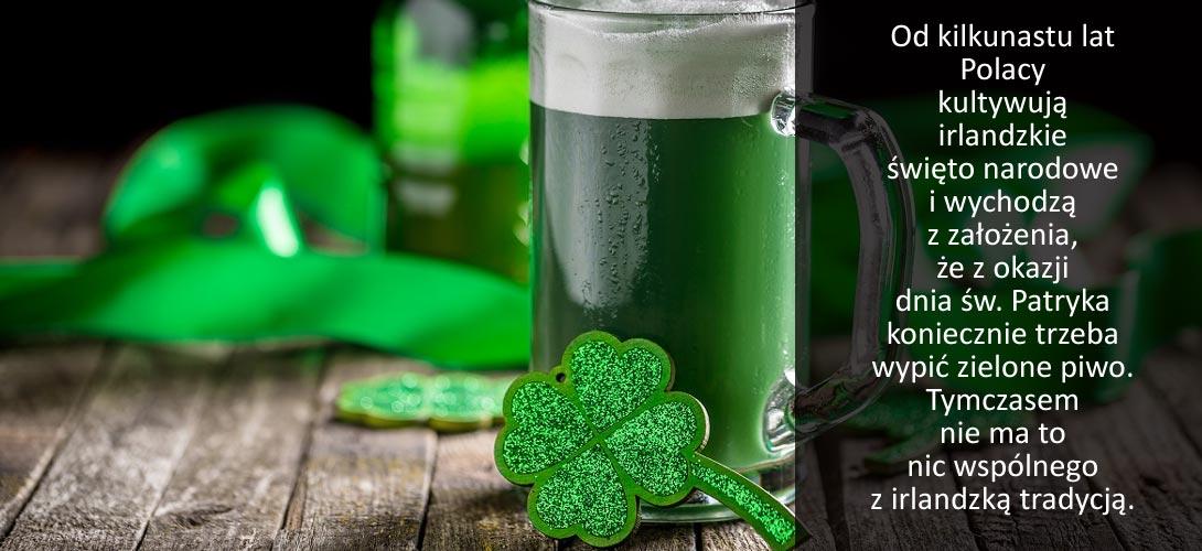 zielone_piwo Piwo z zielonym jęczmieniem. Wiesz czy takie piją w Irlandii?