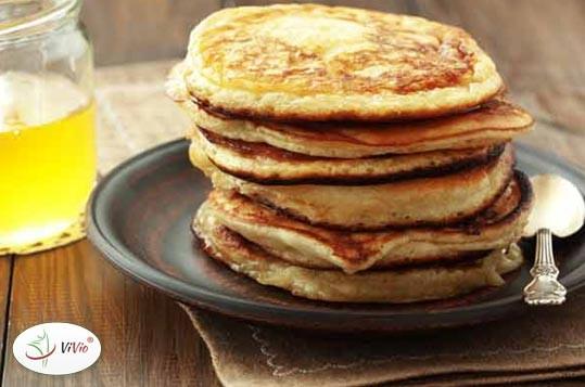 pancakes Naleśniki inaczej, czyli pancakes.  U nas w wersji z olejem kokosowym :)