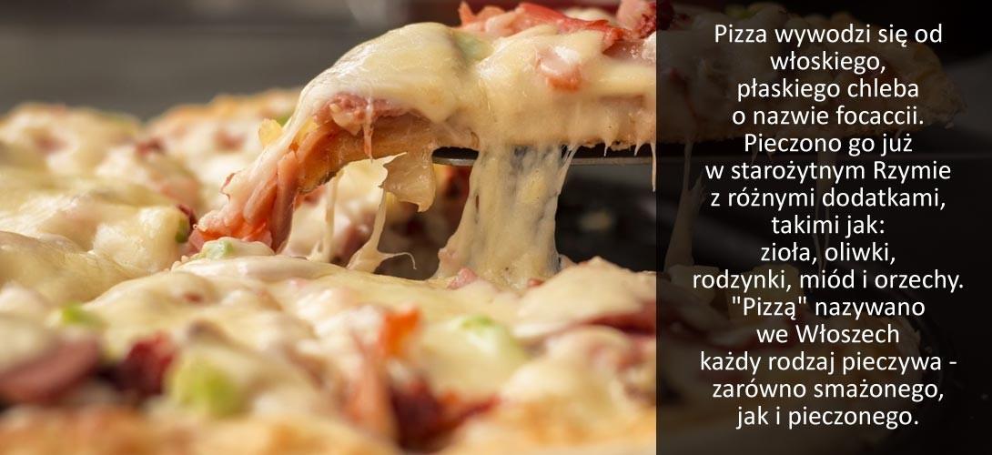 pizza Co dziś na obiad? Może bezglutenowa pizza z oliwkami?