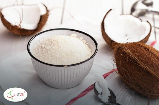 maka_kokosowa Mąka kokosowa - przepis na pyszne ciasteczka z jej dodatkiem. W sam raz na weekend!