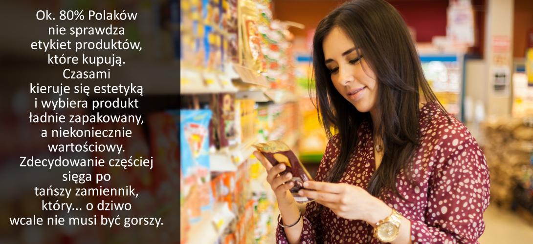 czytanie_etykiety Etykiety produktów spożywczych.  Na co warto zwrócić uwagę przy  żywności konwencjonalnej i ekologicznej?