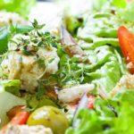 salatka-1-150x150 PRZEPISY NA SAŁATKI: Sałatka z indykiem i truskawkami.  Coś w sam raz na podwieczorek!