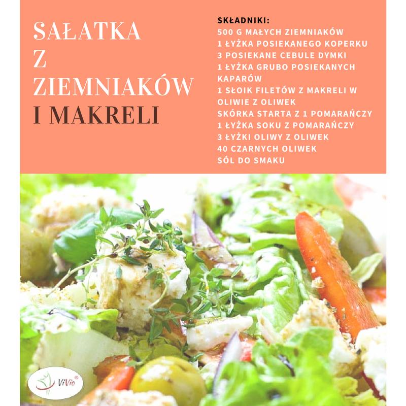 salatka_z_ziemniakmi Hiszpania - ciekawostki:  Sałatka z ziemniaków i makreli. Odkryj nowy smak!