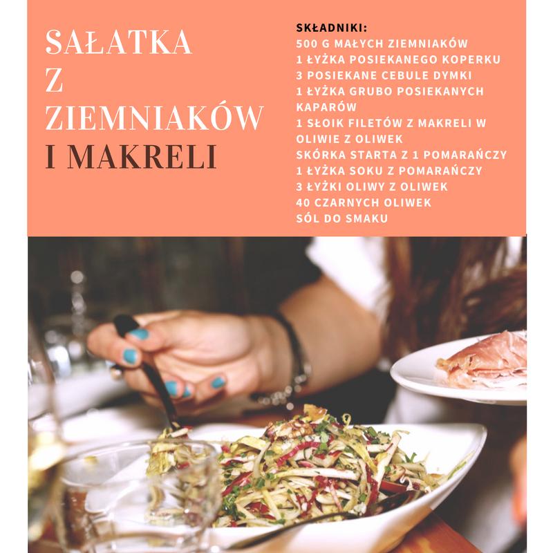 salatka_z_ziemniakow_i_makreli Hiszpania - ciekawostki:  Sałatka z ziemniaków i makreli. Odkryj nowy smak!