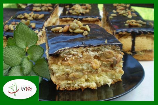 zielona-ramka-logo-mniejszy-for-blog7 Ciasto ze słonecznikiem i pestkami dyni - idealny dodatek do kawy!