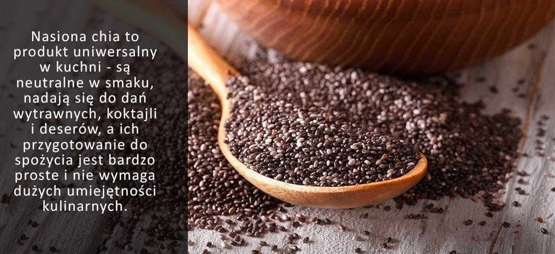 wykorzystanie-nasion-chia-w-kuchni Nasiona chia przepisy i pomysły na ich wykorzystanie!