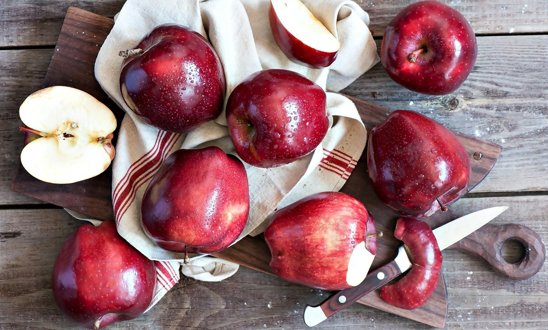 z-1 Pieczone jabłka - Pyszna przekąska dla osób na diecie