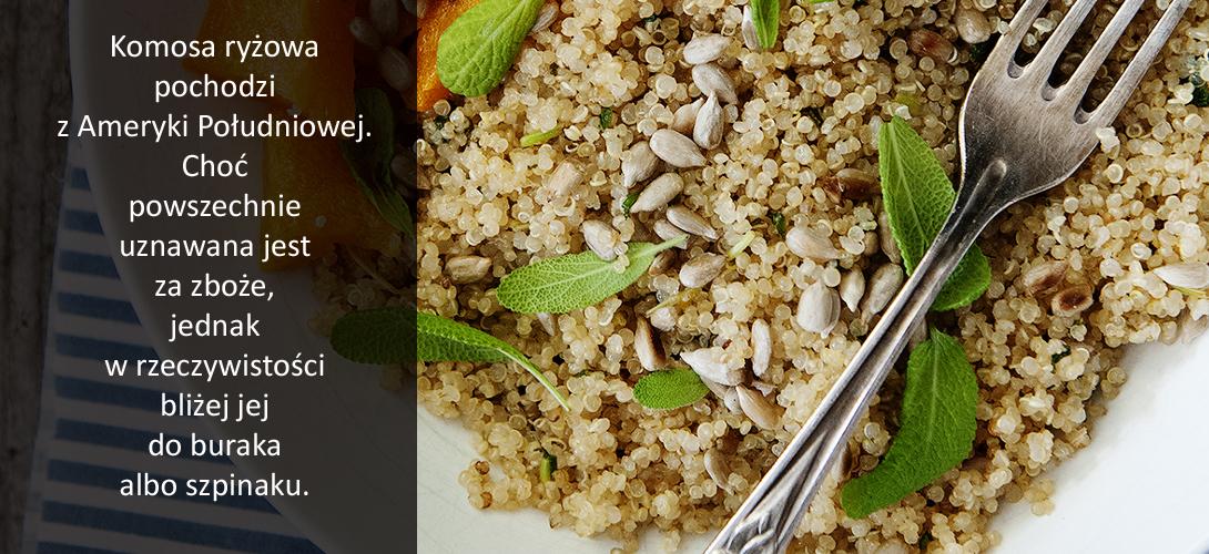 k9 Jak gotować komosę ryżowa białą?Porady + wartość odżywcza ugotowanej komosy ryżowej