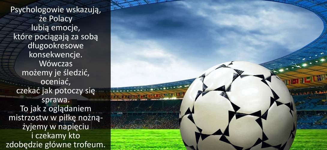 pilka_nozna Badania dowodzą: Polacy lubią piłkę nożną i...przyjmowanie dużej ilości leków i witamin. Dlaczego?