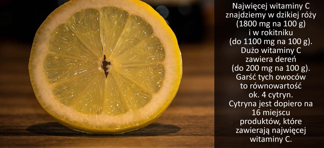 witamina_c_zawartosc Witamina C. Co tak naprawdę o niej wiemy?<br>Jakie dawki witaminy C powinniśmy przyjmować?