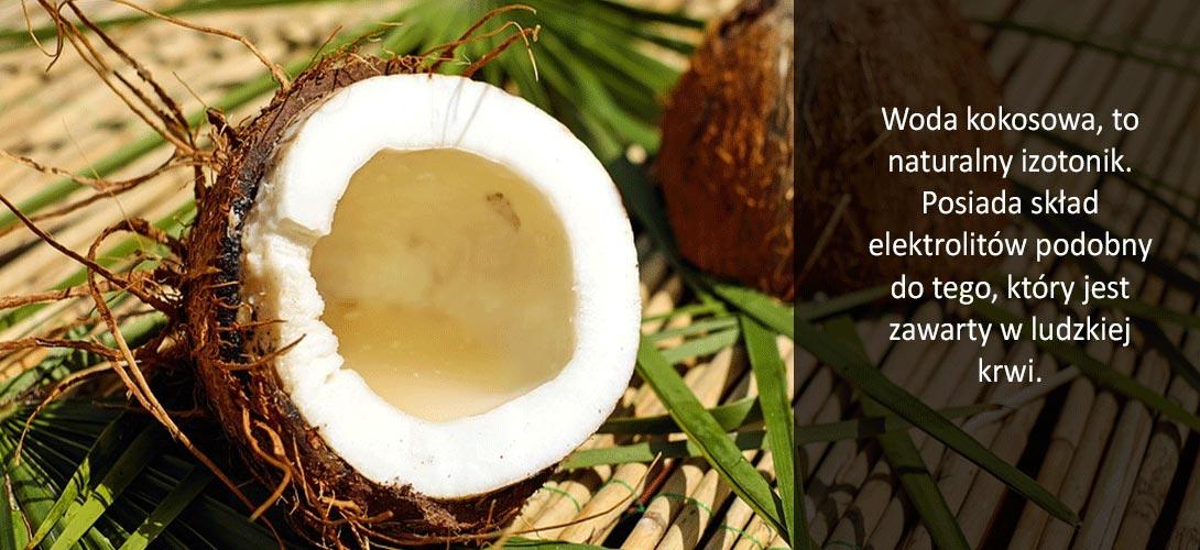 woda_kokosowa Woda kokosowa zamiast szkodliwych izotoników