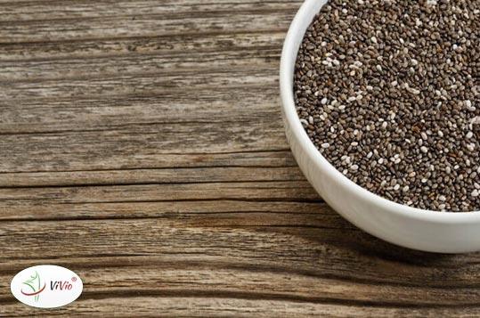 chia Co zawierają nasiona chia?  <br>Dawka wiedzy + przepis na koktajl z nasionami chia