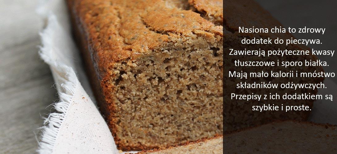 chleb Nasiona chia, czyli zdrowy dodatek do pieczywa. Wypróbuj 3 przepisy na chleb z dodatkiem szałwi hiszpańskiej!