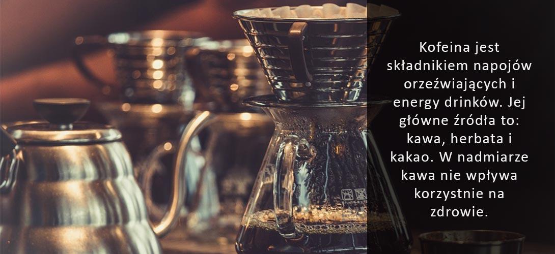 kofeina 4 produkty, które zastąpią kofeinę!