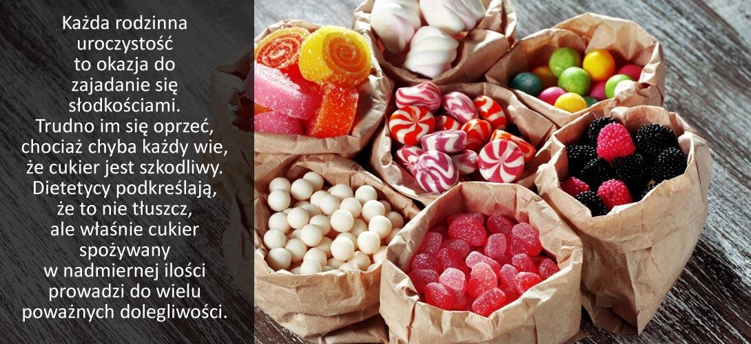 slodkosci Jak ograniczyć cukier i słodycze w diecie?Radzi dietetyk - Sylwia Witek