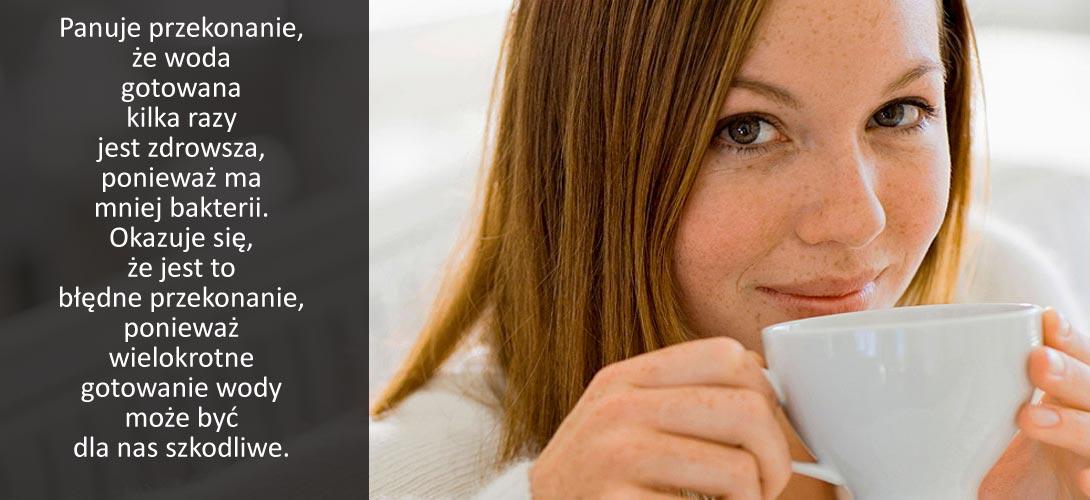 woda_na_kawe Dlaczego wody na kawę i herbatęnie powinno się gotować kilka razy?