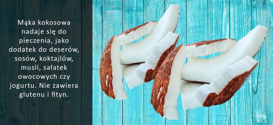 maka-kokosowa-bezglutenowa-1 Mąka kokosowa – lepszy zamiennik mąk zbożowych?
