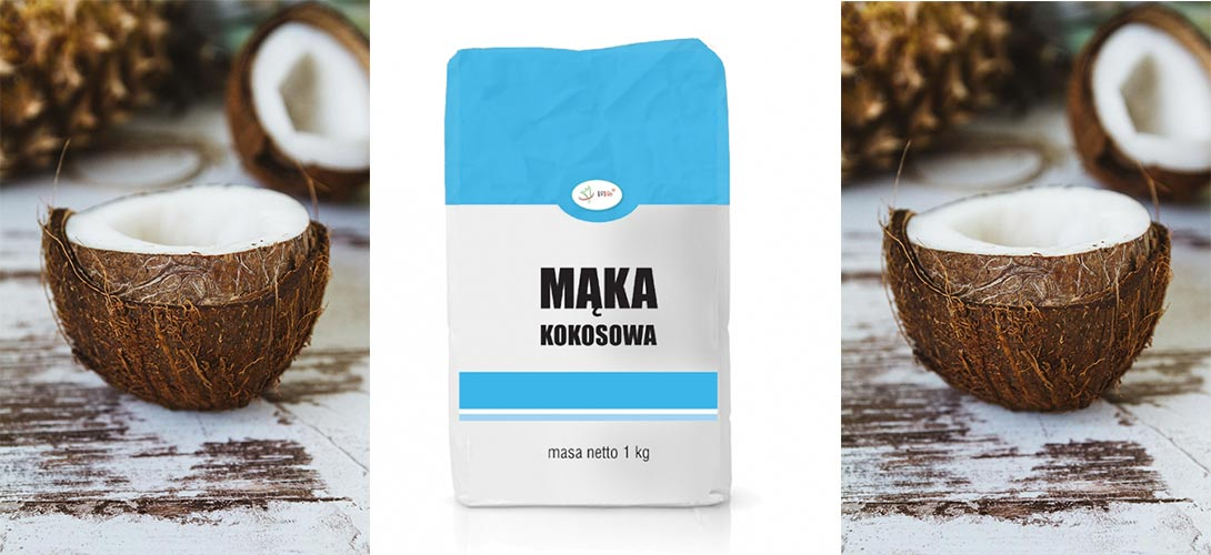 maka-kokosowa-bezglutenowa Mąka kokosowa – poznaj zalety mąki bezglutenowej!