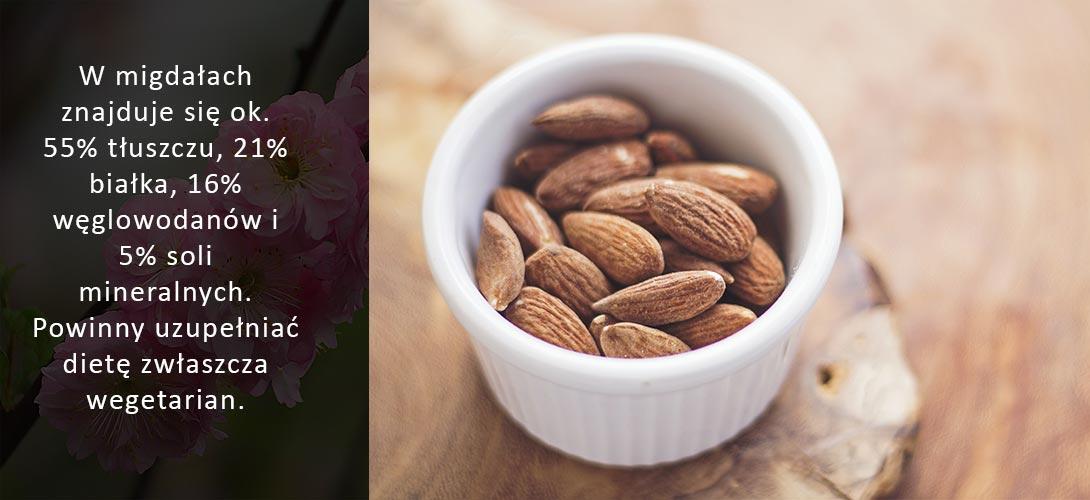 migdaly-w-diecie Migdały w diecie – sprawdź, dlaczego warto je spożywać!