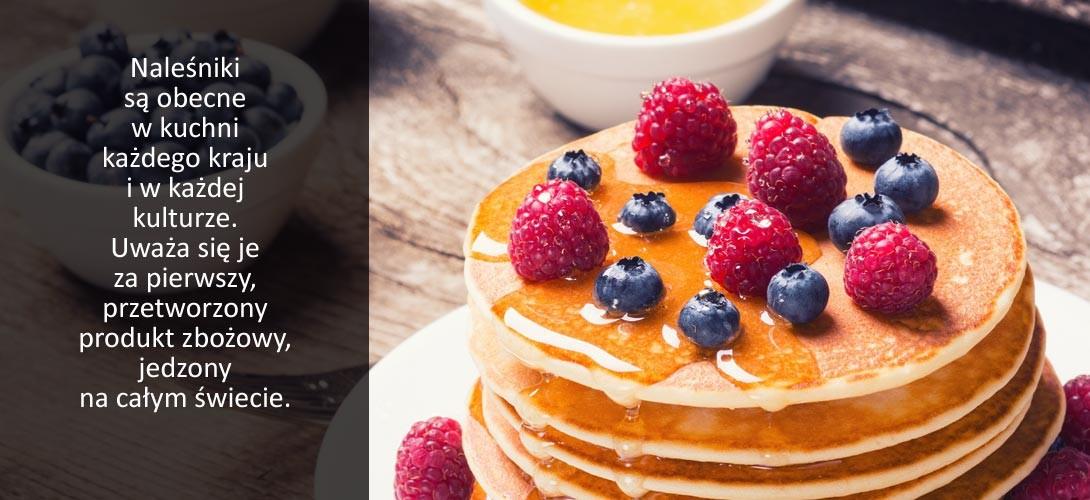 nalesniki Naleśniki inaczej, czyli pancakes.U nas w wersji z olejem kokosowym :)