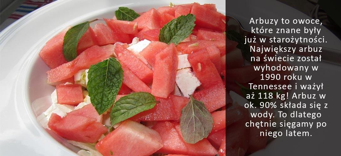 salatka-z-arbuzem Arbuzowa sałatka z quinoa – idealna na lato!