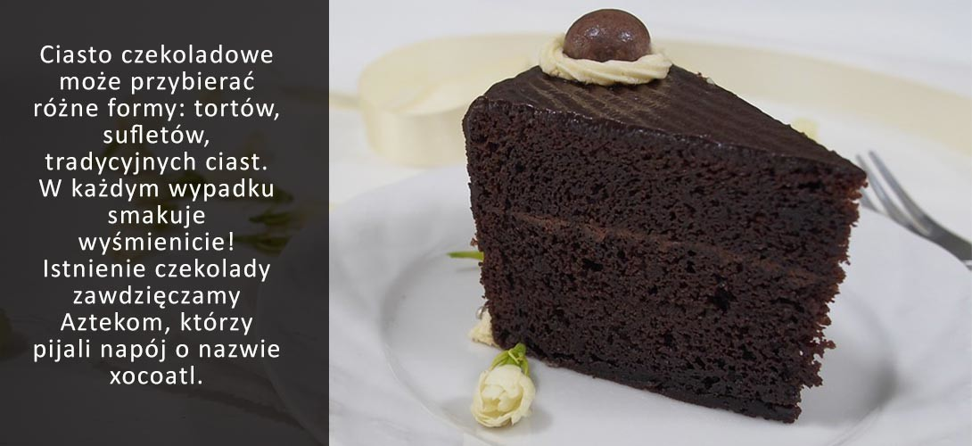 rodzaje-ciast-czekoladowych CIASTO CZEKOLADOWE PRZEPIS z masłem orzechowym!