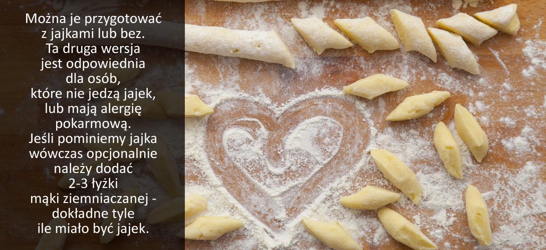 domowe_kopytka Przepisy na obiad: 5 TANICH, SZYBKICH,I ŁATWYCH W PRZYGOTOWANIU dań ziemniaczanych. Nr 4 najlepszy!