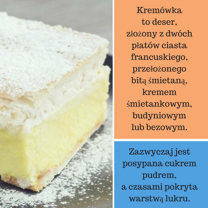 kremowka_przepis Przepisy na ciasta - kremówka, czyli napoleonka <br> Sprawdź prosty i zawsze udany przepis!
