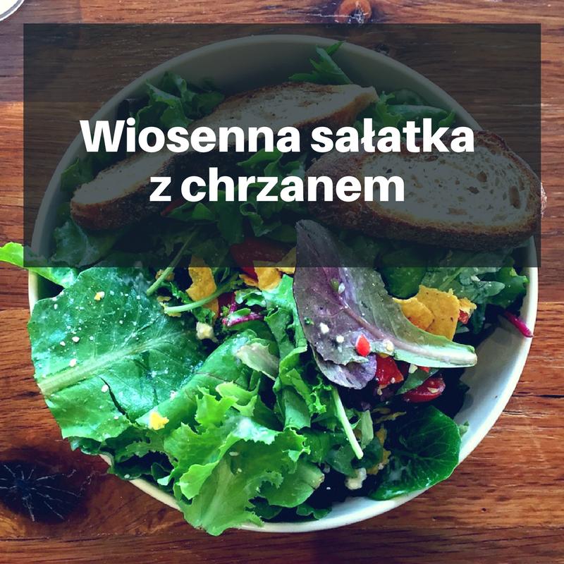 Wiosenna-sałatka-z-chrzanem PRZEPIS KWIETNIA: Wiosenna sałatka z chrzanem