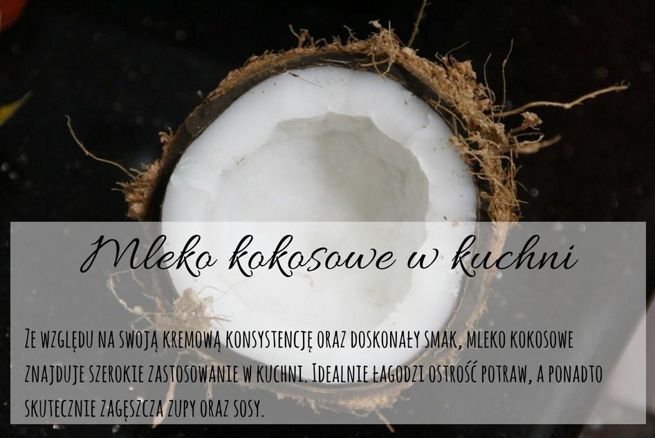 Infograf Mleko kokosowe - właściwości i zastosowanie w kuchni
