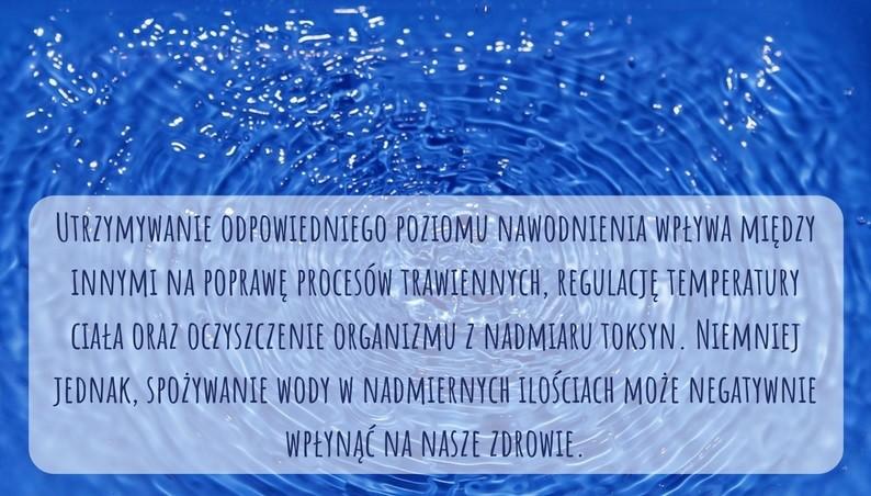 Infografika Czy picie wody w nadmiernych ilościach może nam zaszkodzić?