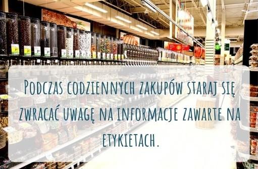 Infograf-2 Jakie informacje możemy znaleźć na etykietach produktów spożywczych?